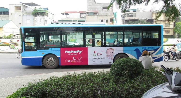 Để quảng cáo trên xe bus hiệu quả, doanh nghiệp cần lưu ý