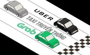 Taxi truyền thống & Grab + Uber