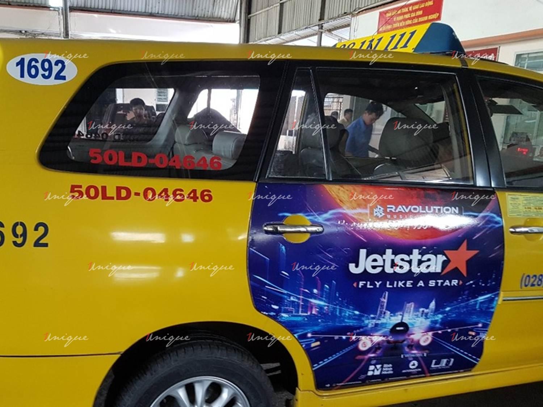 Jetstar phủ sóng thương hiệu mạnh mẽ với chiến dịch quảng cáo taxi