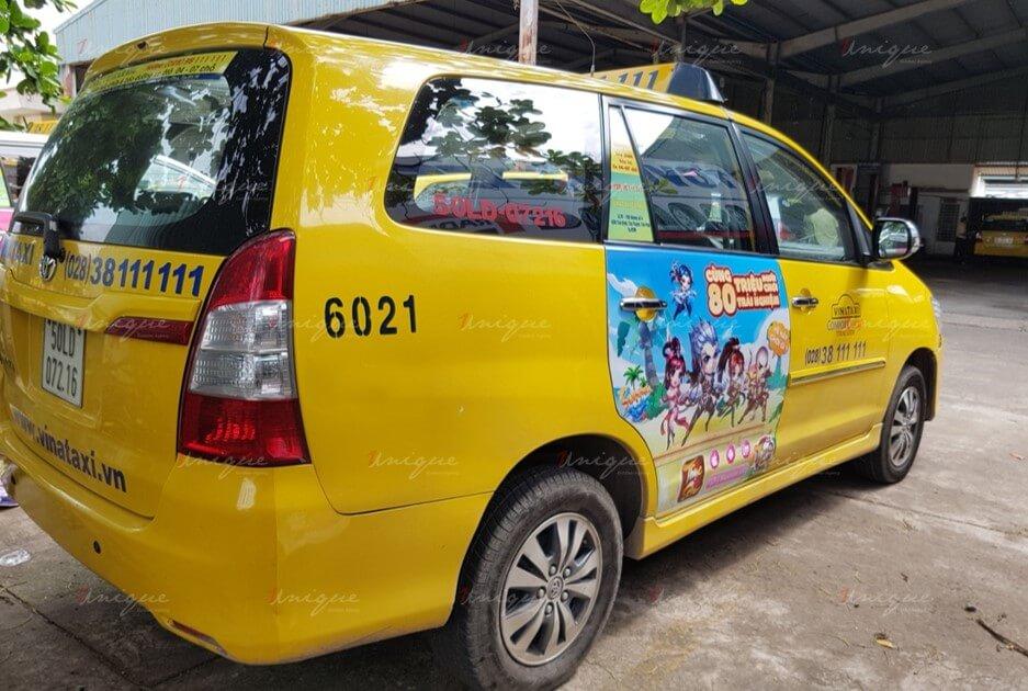 Game Thục Sơn Kỳ Hiệp phủ sóng thương hiệu với chiến dịch quảng cáo trên taxi